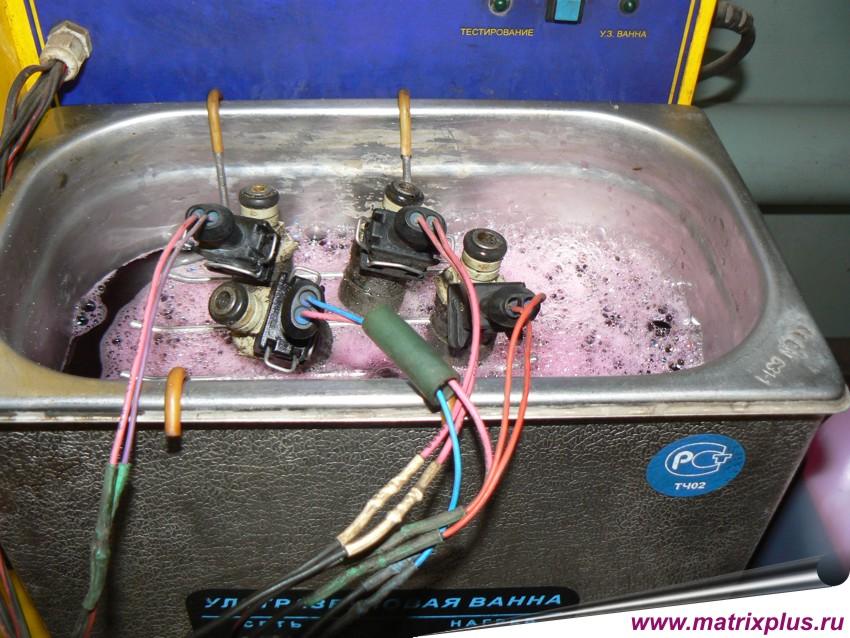 Очистка инжектора своими руками
